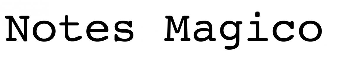 notes-magico
